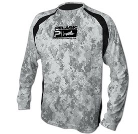Pelagic Vaportek LSL Technical Shirt G. Camo L