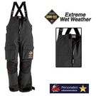 Bass Pro 100MPH GORE-TEX Rain Bibs Black XL