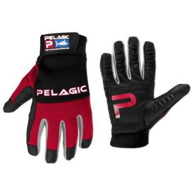 Pelagic End Game Gloves (full fingers) Red L/XL