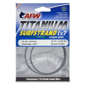 AFW - Titanium Surfstrand 1x7 Tafsmaterial