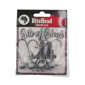 Bite Of Bleak Bitehead Lead - 10g 4/0 (4-pack)