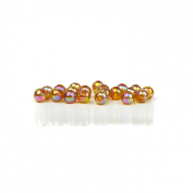 Articulated Beads 6mm - Opal Rootbeer