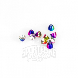 Coneheads S (4,8mm) - Rainbow