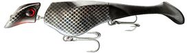 Headbanger Shad 22 cm Floating - Black Metal