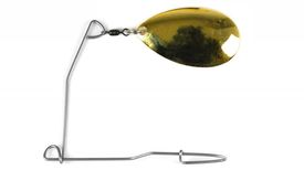 Instant Spinnerbait, #8 Indiana Gold Plate