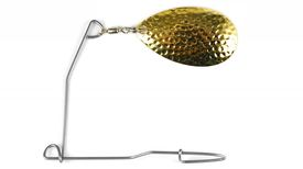 Instant Spinnerbait, #8 Indiana Hammered Gold