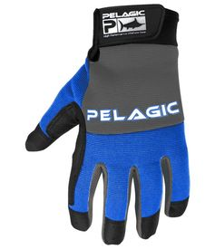Pelagic End Game Gloves (Full Fingers) Royal L/XL