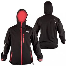 Fox Rage Hooded Black Soft Shell, Large