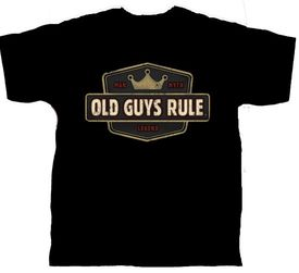 Old Guys Rule - Man Myth Legend - 2XL