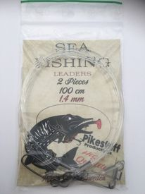 Pikestuff Sea Fishing Leader 2-pack 1,4mm Mono