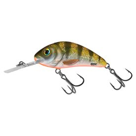 Salmo Rattlin' Hornet 4,5cm, 6g Flytande - Yellow Holographic Perch