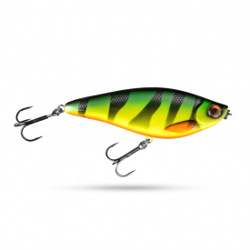 Scout Swimmer 12,5cm 67g Slow Sink - Fire tiger