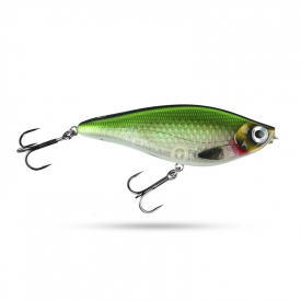 Scout Swimmer 12,5cm 67g Slow Sink - Pearl Herring