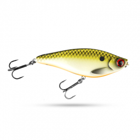 Scout Swimmer 12,5cm 67g Slow Sink - Hot Rudd