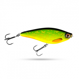 Scout Swimmer 12,5cm 67g Slow Sink - Hot pike