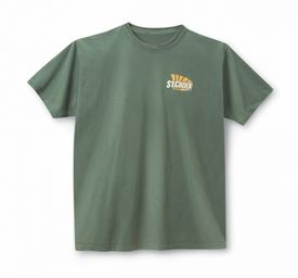 St. Croix Fishing Rods T-Shirt (Green) - Large