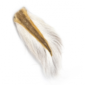 Bucktail - Natural White
