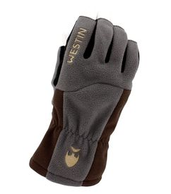 Westin W4 ThermoGrip Half-Finger Glove L Steel Grey