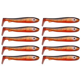 McRubber Bass 8cm (10 pack), Red Tiger