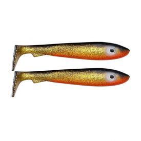 SvartZonker McRubber Junior 17cm (2-pack) - Golden Shiner
