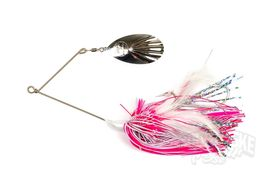 Rad Dog Spinnerbait - Single Blade Pink Silver