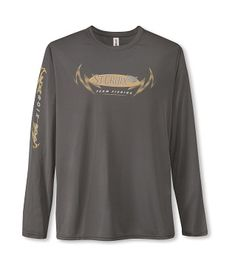 St. Croix Light Weight Long Sleeve Performance T-Shirt, L