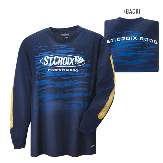 St croix priority fishing quick dry shirt tr jor t shirts for St croix fishing apparel