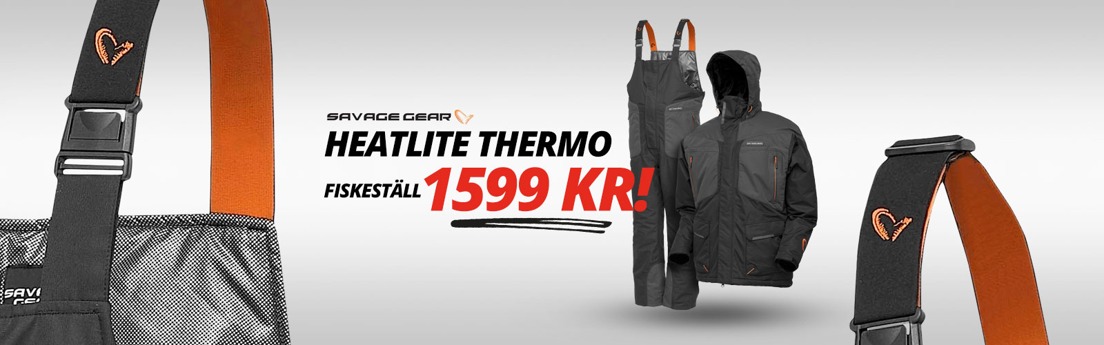 Savage Gear Fiskeställ heatlite thermo