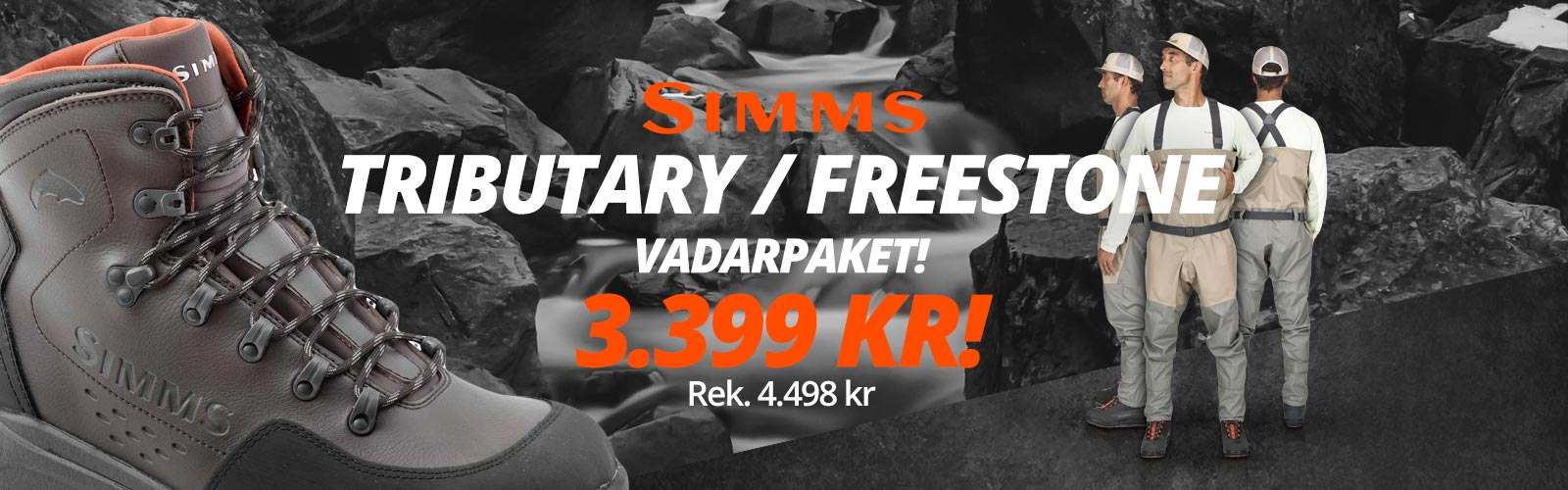 Simms tributary freestone vadarpaket