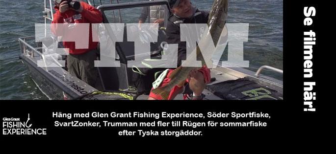 Missa in filmen från Glen Grant Fishing - Gäddfiske i Rügen