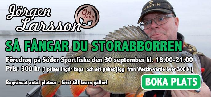 Föredrag med Jörgen Larsson - Så fångar du storabborren