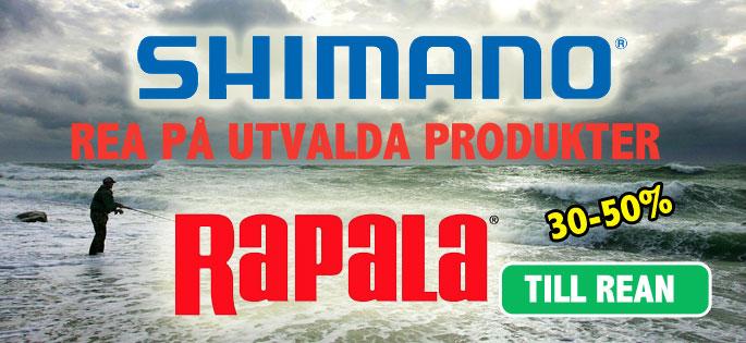 Shimano & Rapala REA