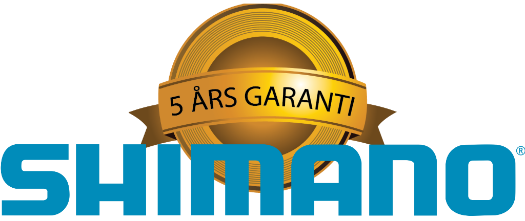 5-års garanti på Shimano rullar