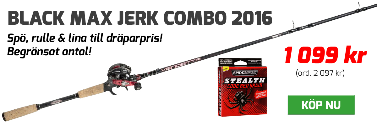 Black max Jerk Combo 2016