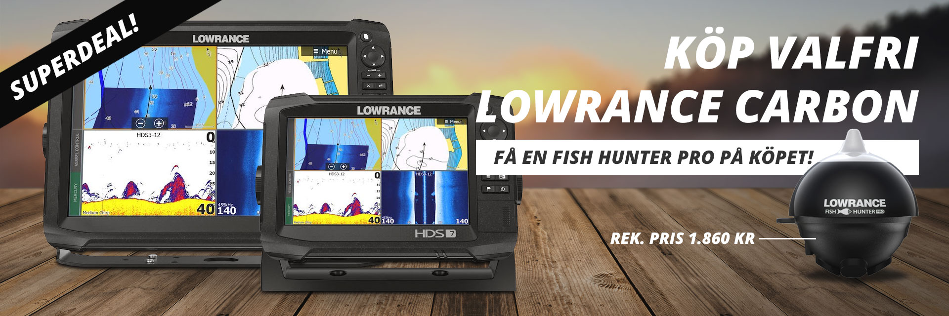 Lowrance Fish Hunter Pro