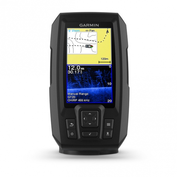 Garmin Striker Plus 4CV Ink Aktergivare GT-20 4Pin