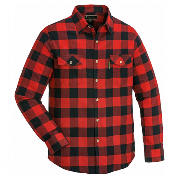 Pinewood Voxtorp Shirt Red/Black