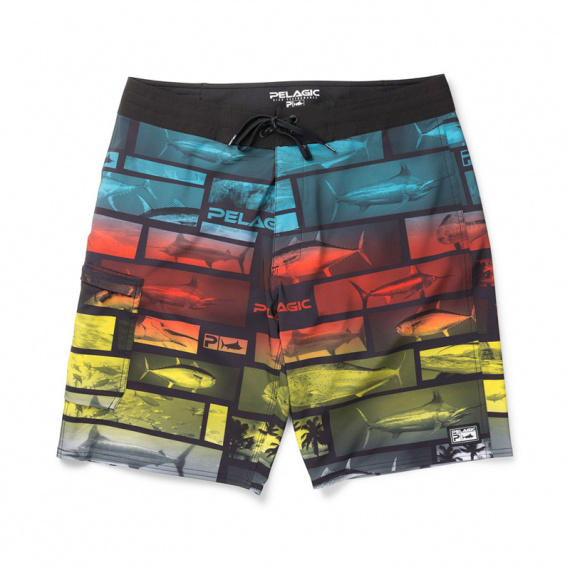 Pelagic Blue Water Fishing Shorts Multi