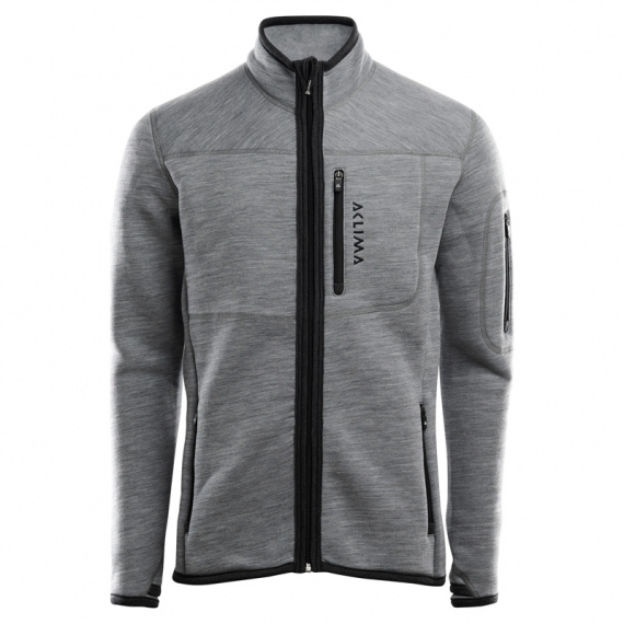 Aclima FleeceWool Jacket Man Grey Melange