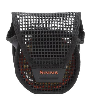 Simms Bounty Hunter Mesh Reel Pouch Black