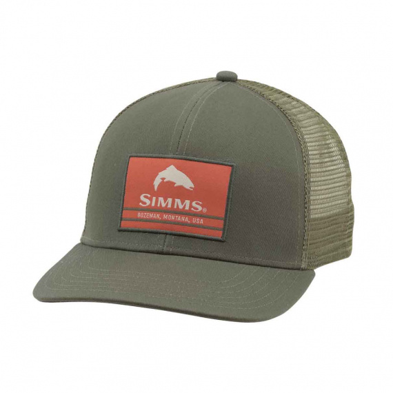 Simms Original Patch Trucker Foliage