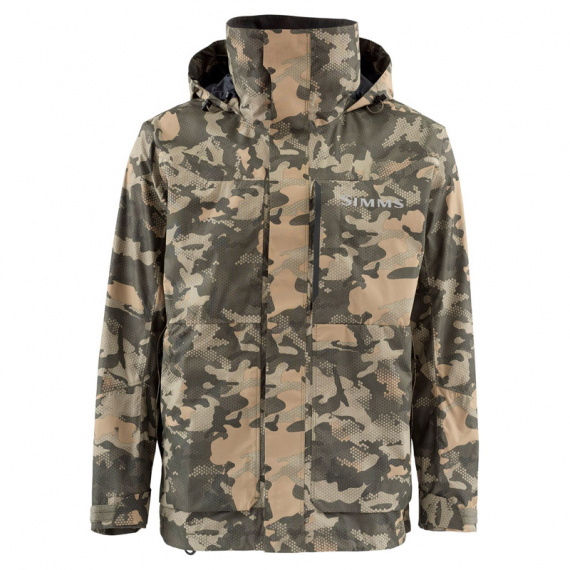Simms Challenger Jacket Hex Flo Camo Timber