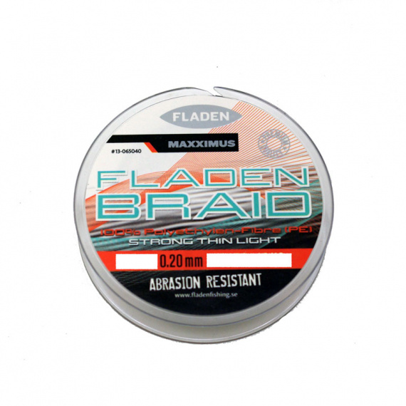 Fladen Maxximus PE Braid Grey 0.20mm 18kg 250m i gruppen Fiskelinor / Flätlinor & Superlinor hos Sportfiskeprylar.se (13-0625040)