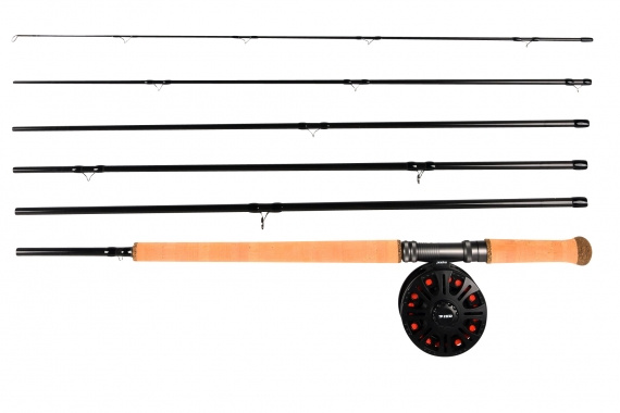 Pool 12 Powerfly Salmon Seeker Combo 14\' # 9 (6-Delat)