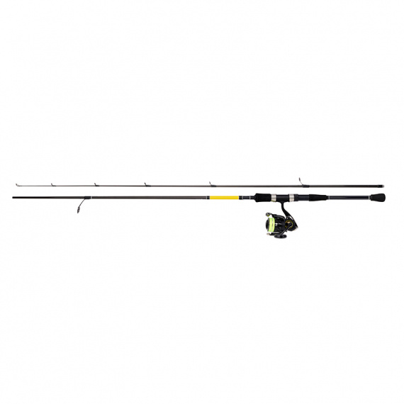 Daiwa Crossfire PMC Spinning Set - 702MHFS 7-28g/CF2500, 0.19mm Braid