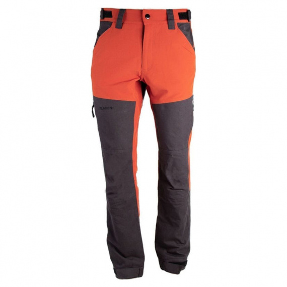 Fladen Trousers Authentic 3.0 4-Way Stretch, Rust/Black