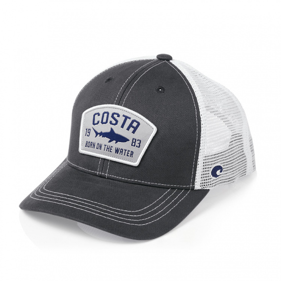 Costa Chatham Shark Twill Trucker Hat Navy