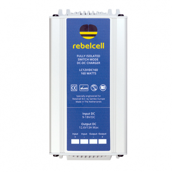 Rebelcell Range Extender 12.6V13A for 12V70 AV/12V140 AV Battery
