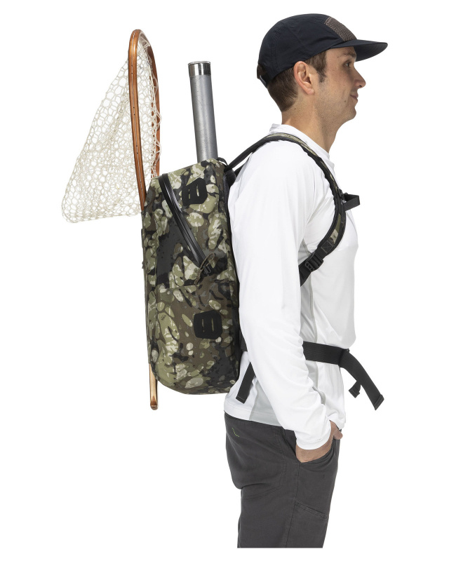 Simms Dry Creek Z Backpack Riparian Camo - 35L